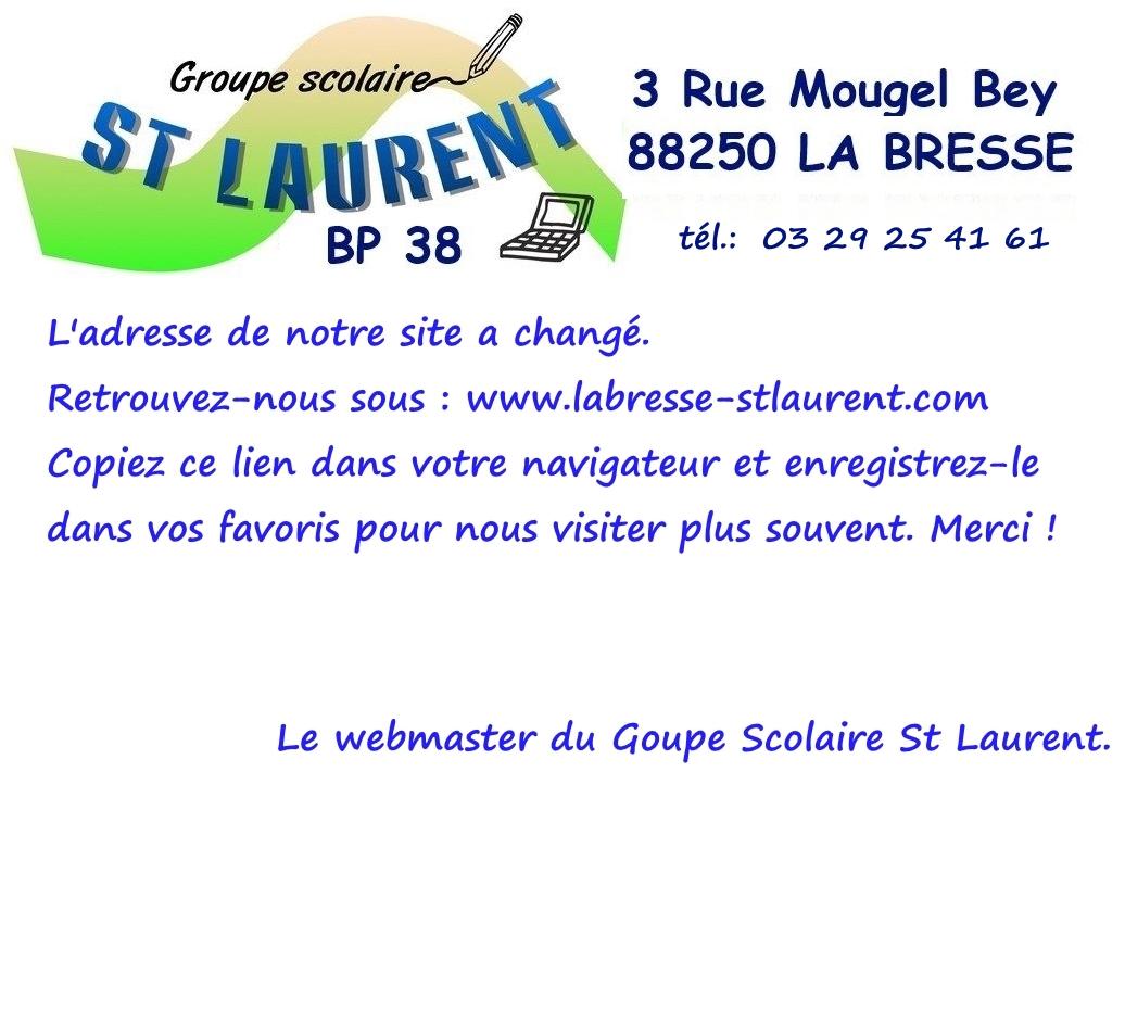 Collège Saint Laurent La Bresse